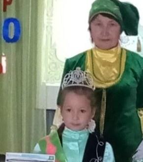 Минзәлә шәһәренең «Шатлык» балалар бакчасында «Татар кызчыгы» конкурсы узды