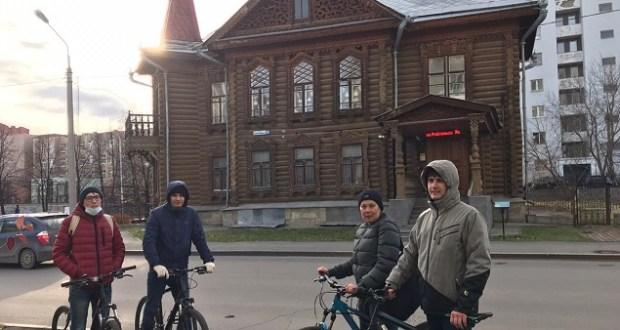 Состоялась велоэкскурсия по Татарской слободе Екатеринбурга ⅩⅨ-ⅩⅩ вв
