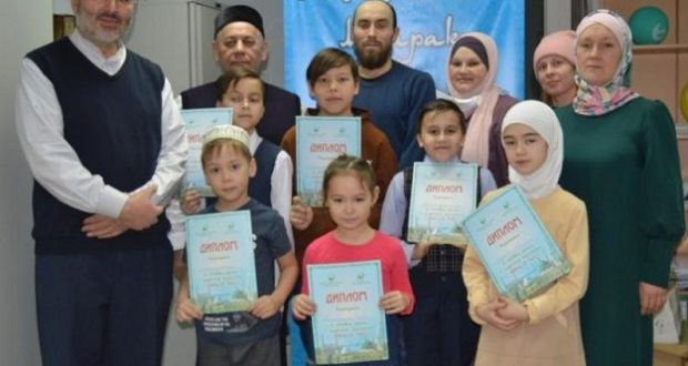 """The results of the children's competition """"My First Shamail"""" were summed up in the Tyumen region"""