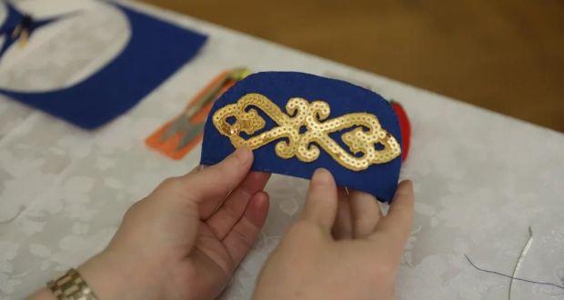 В Татарском культурном центре Москвы прошел мастер-класс по пошиву калфака