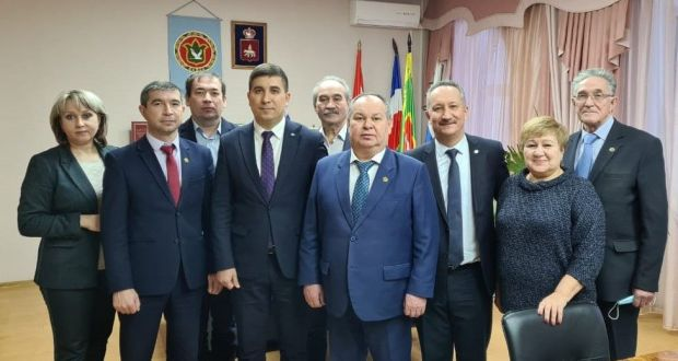 The management of  Executive Committee of the World Congress of Tatars visited the Perm Krai