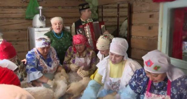 В Альдермыше прошёл традиционный праздник «Каз омэсе»
