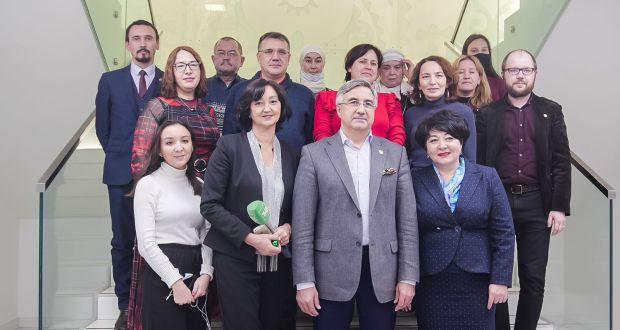 ФОТОРЕПОРТАЖ: Милли Шура рәисенең татар журналистлары белән очрашуы