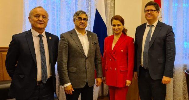 Васил Шәйхразыев Чиләбе өлкәсенең вице-губернаторы белән очрашты