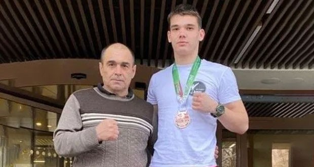 """Bugulmineers received bronze in the All-Russian kickboxing competition """"Moscow Open"""""""