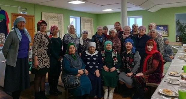 В Соборной мечети Дзержинска состоялось собрание женского клуба «Ак-калфак»