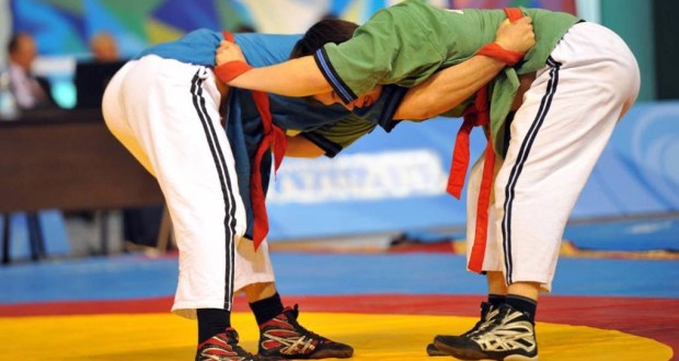 All-Russian tournament in Tatar wrestling Koresh has started in Zainsk