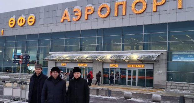 Сегодня Василь Шайхразиев прибыл с рабочим визитом в Башкортостан