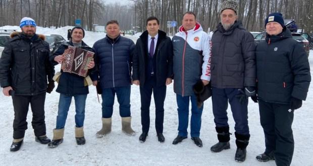 """Данис Шакиров Самарада """"Сәламәтлек көне""""ндә катнашты"""