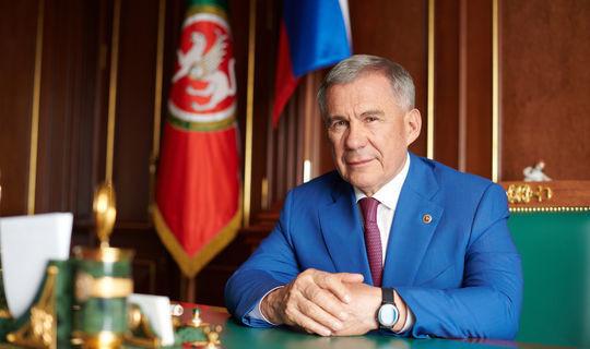 Рустам Минниханов вновь возглавил национальный рейтинг российских губернаторов