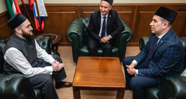 Danis Shakirov met with the Mufti of Tatarstan Kamil Khazrat Samigullin