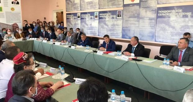 President of the Republic of Tatarstan met with representatives of Tatar public organizations of the Perm Krai