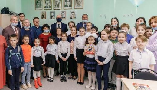 В Нижневартовске открыли ещё один татарский класс