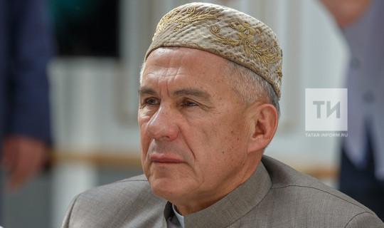 Rustam Minnikhanov addressed the people of Tatarstan on the occasion of the Eid al-Adha holiday