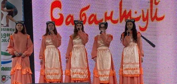 В Южно -Сахалинске прошел Юбилейный детский Сабантуй