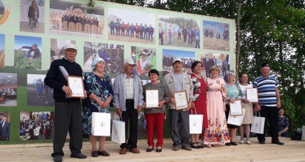 Тәтеш районы Башчы авылында Сабан Туе узды