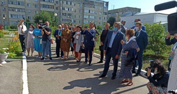 Василь Шайхразиев находится в Зеленодольске с рабочей поездкой