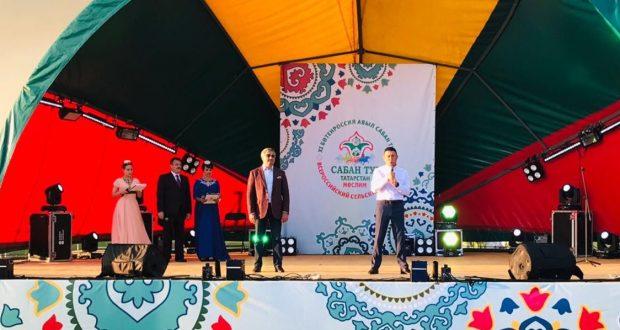 На Сабантуе в Муслюмовском районе вручили награды Всемирного конгресса татар