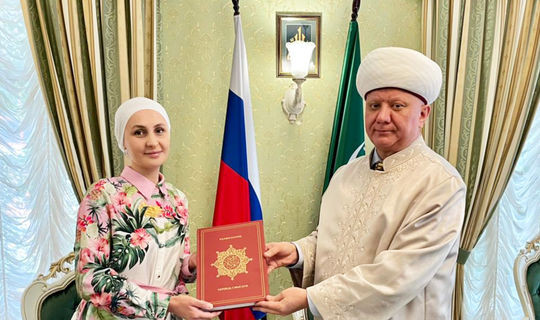 Россия Дини җыены хатын-кызлар өчен «Фирдәвес» журналы белән хезмәттәшлек итәчәк