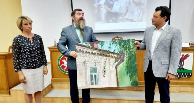 Алабуга районына «Рәссам белән бер көн» проекты тормышка ашырылды