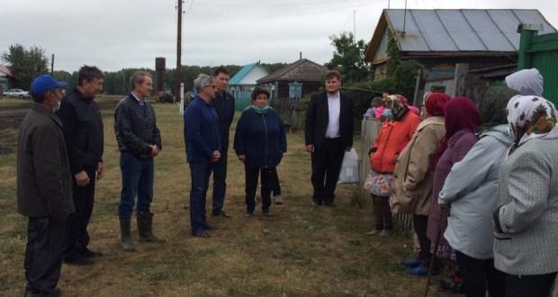 Василь Шайхразиев посетил деревню Каракуль, которая имеет 360-летнюю историю