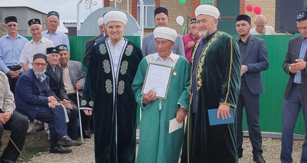 A new mosque in the village of Toygeldino, Muslyumovsky district opened