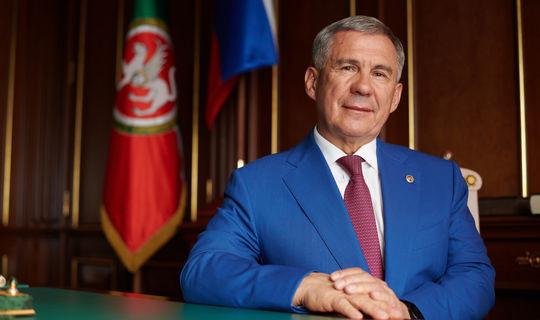 Рустам Минниханов обратился к татарстанцам по случаю Дня знаний