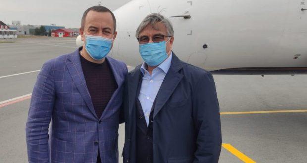 Василь Шайхразиев прибыл с рабочим визитом в Омскую область