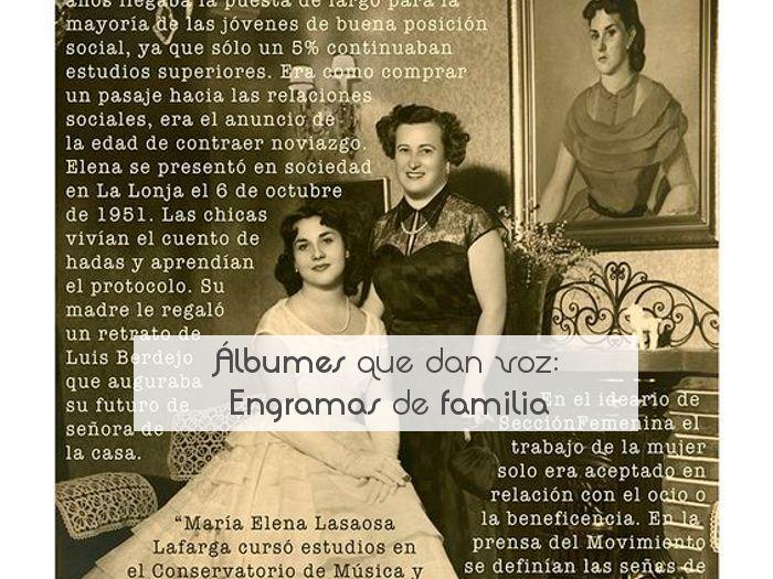 Álbumes que dan voz: Engramas de familia
