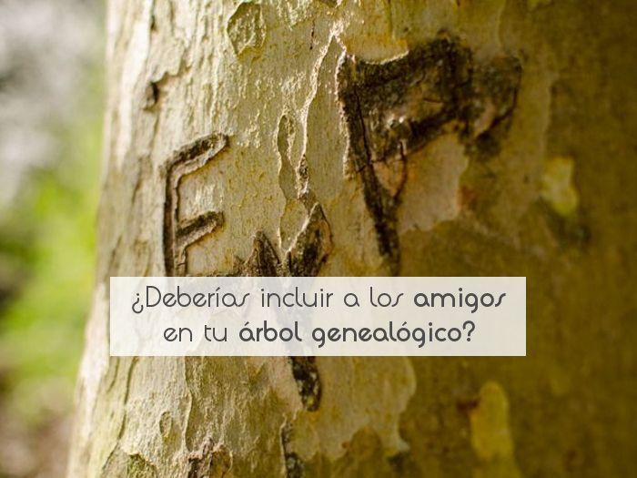 ¿Deberías incluir a los amigos en tu árbol genealógico?