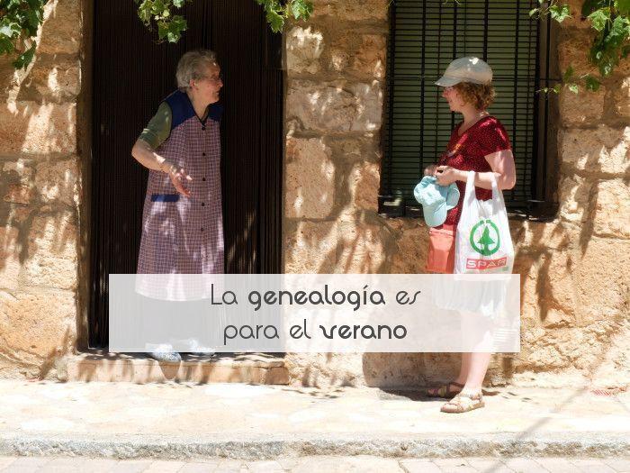 La genealogía es para el verano