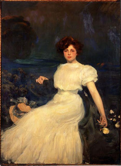 Teresa Mestre de Baladi pintada por Ramon Casas