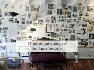 El árbol genealógico de Juan Lealruiz