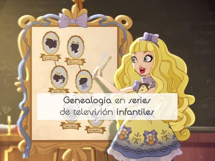 Genealogía en series de televisión infantiles