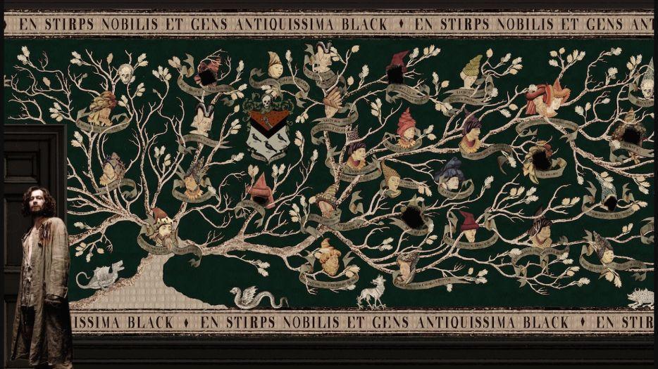 árbol genelógico Sirius Black