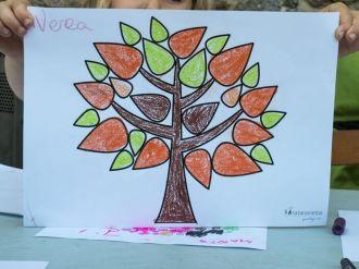 Pinta tu árbol de la vida