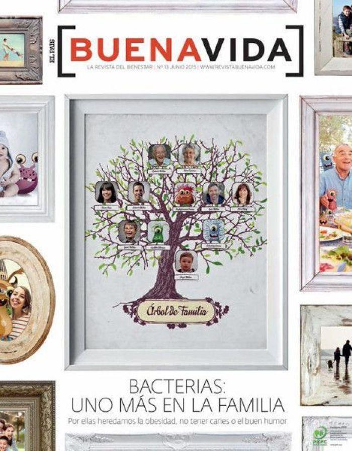 Bacterias: Una más en la familia. Buenavida