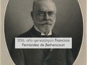 2016 Año genealógico Francisco Fernández de Bethencourt