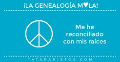 La genealogía mola. Me he reconciliado con mis raíces