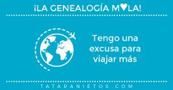 La genealogía mola. tengo una excusa para viajar más