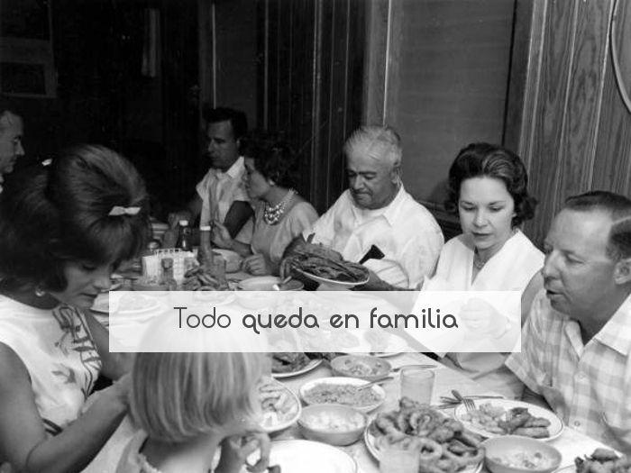 Todo queda en familia