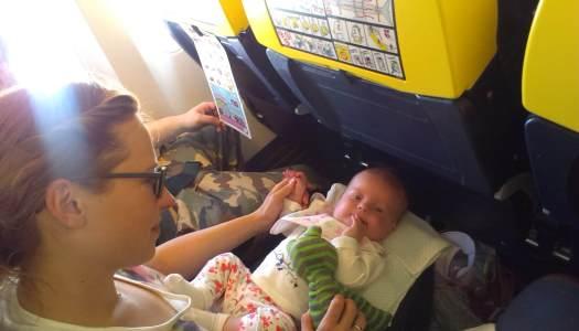 Podróżowanie z dzieckiem: samolotem Ryanair