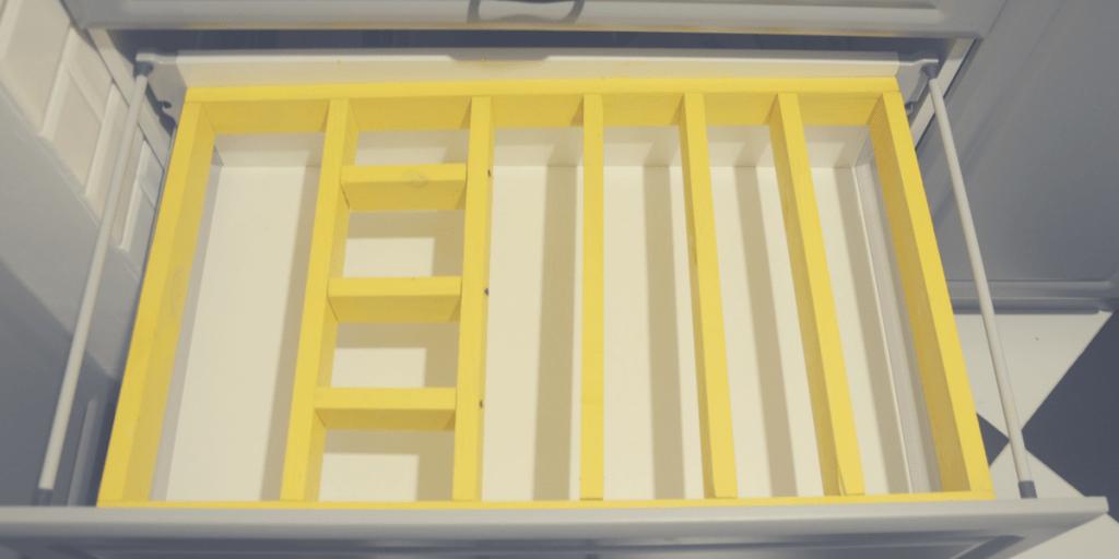 separator kuchenny do szuflad