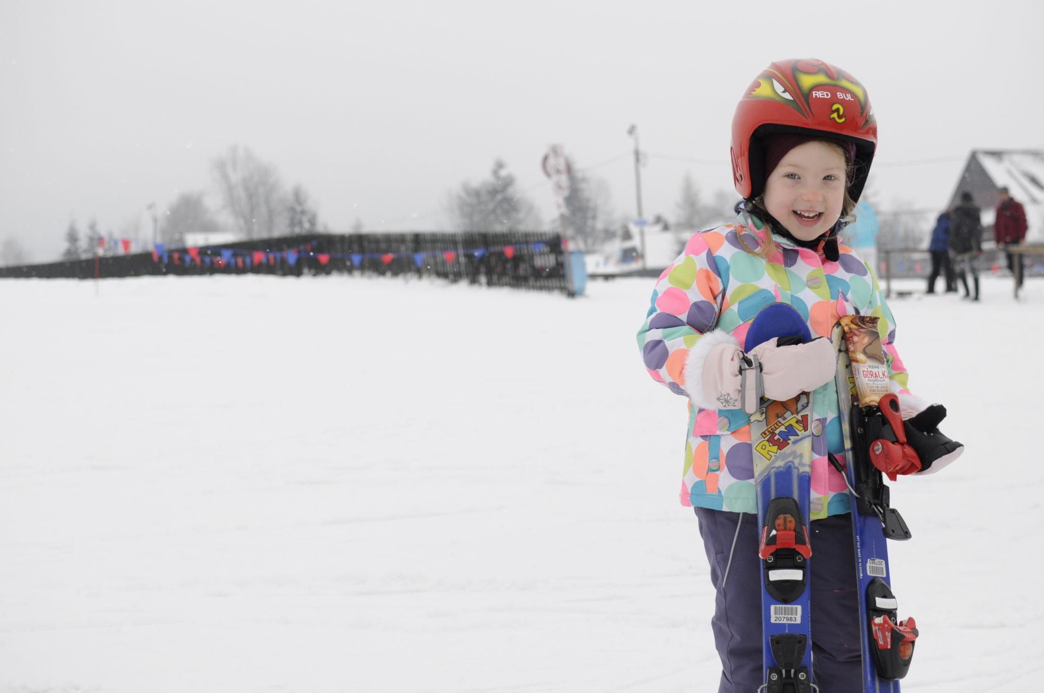jak nauczyć dziecko jeździć na nartach
