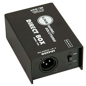 Simple DI box