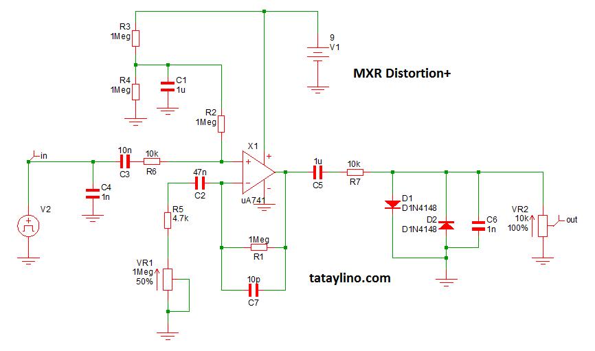 MXR Distortion+ project