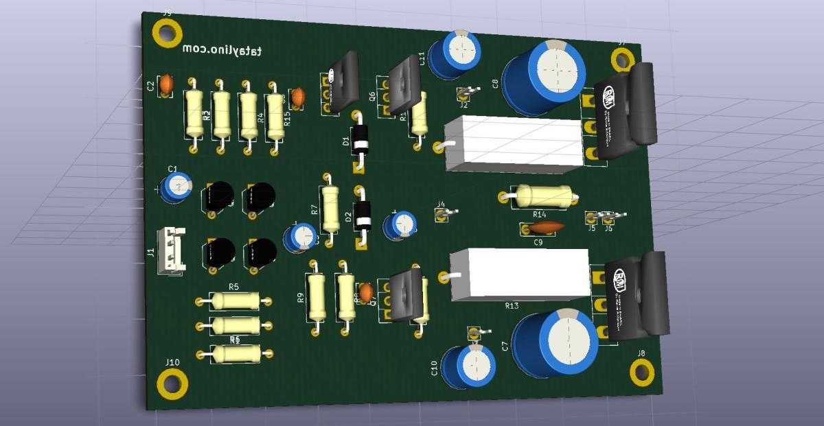 100W Amplifier Project