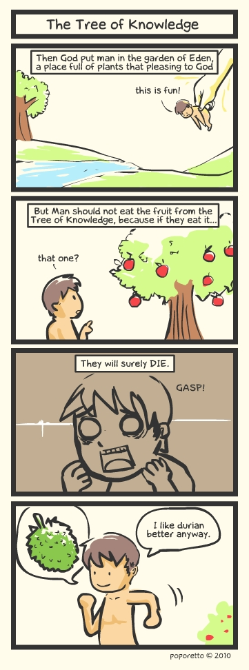 Genesis Bible Comic – Tree Of Knowledge