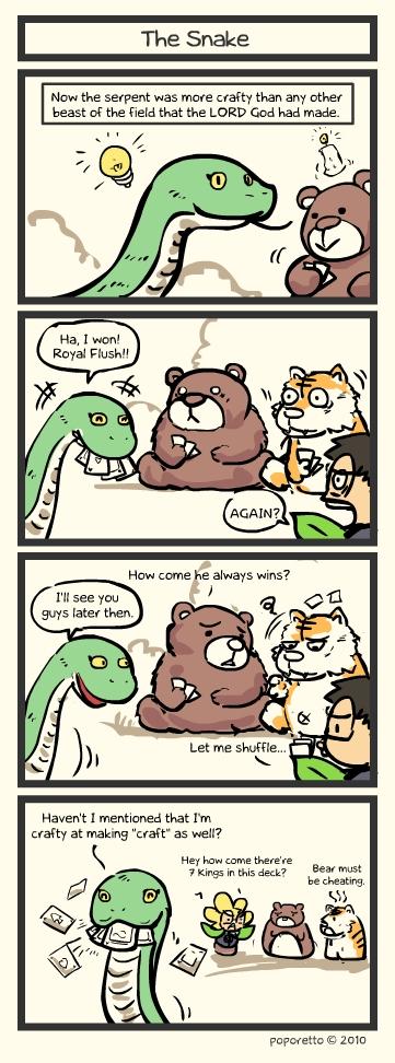 Genesis Bible Comic – The Snake