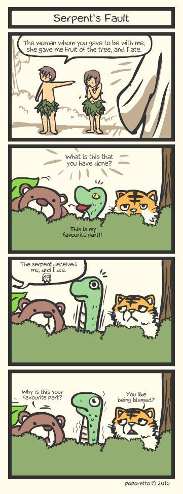 Genesis Bible Comic – Serpents Fault